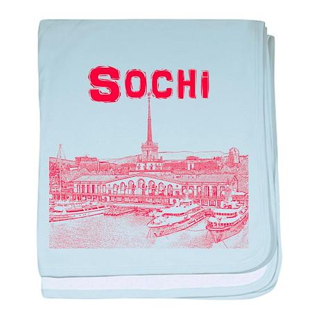Sochi baby blanket