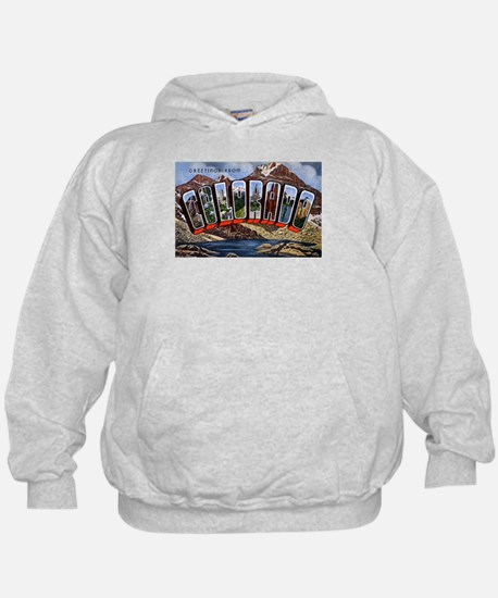 Colorado Greetings (Front) Hoody