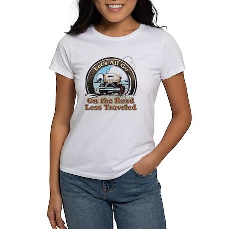 """Road Less Traveled"" Women's T-Shirt"