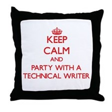 Keep Calm and Party With a Technical Writer Throw