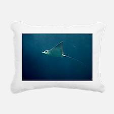 Stingray Rectangular Canvas Pillow