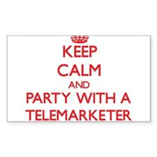 Keep Calm and Party With a Telemarketer Decal