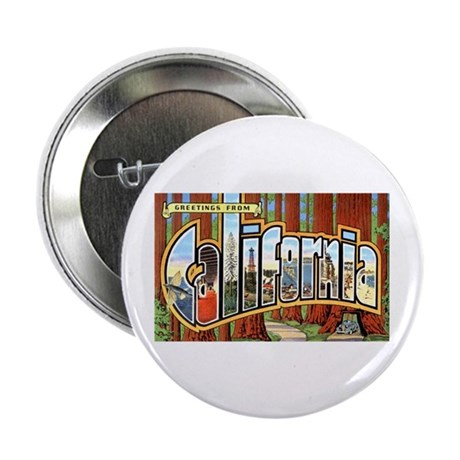 "California Greetings 2.25"" Button (10 pack)"