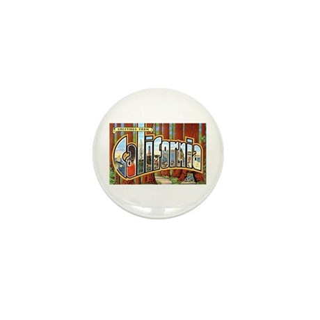 California Greetings Mini Button