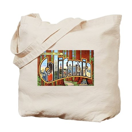 California Greetings Tote Bag
