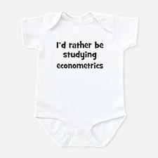 Study econometrics Infant Bodysuit