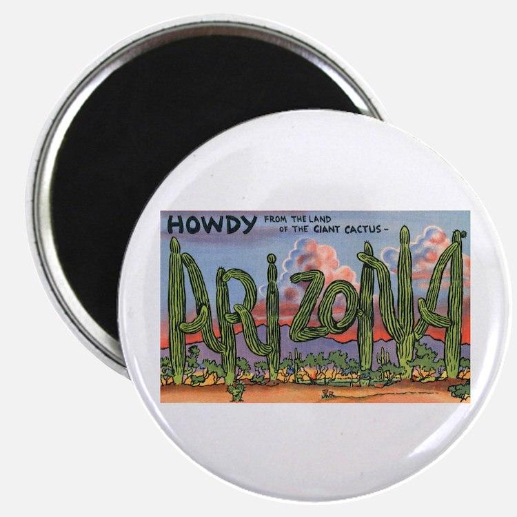 """Arizona Greetings 2.25"""" Magnet (10 pack)"""