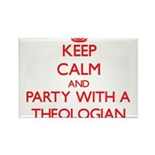 Keep Calm and Party With a Theologian Magnets