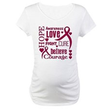 Amyloidosis Hope Words Shirt