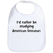 Study American literature Bib