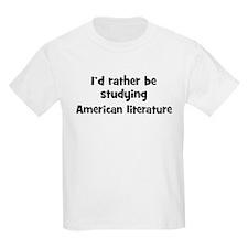 Study American literature T-Shirt