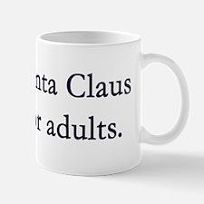 santa adults mug Mugs