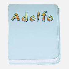 Adolfo Giraffe baby blanket