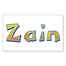 Zain Giraffe Rectangle Decal