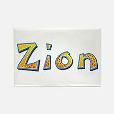 Zion Giraffe Rectangle Magnet