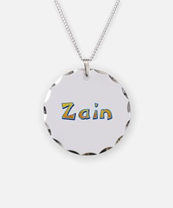 Zain Giraffe Necklace Circle Charm