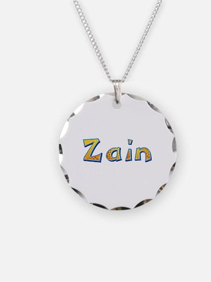 Zain Giraffe Necklace Circle Charm