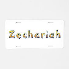 Zechariah Giraffe Aluminum License Plate