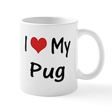 I Heart My Pug Mug