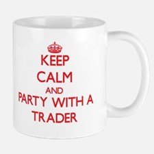 Keep Calm and Party With a Trader Mugs