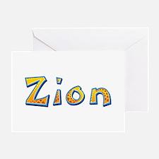 Zion Giraffe Greeting Card