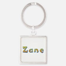 Zane Giraffe Square Keychain