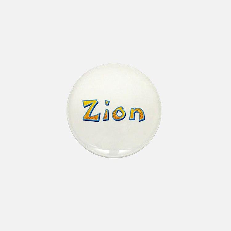 Zion Giraffe Mini Button