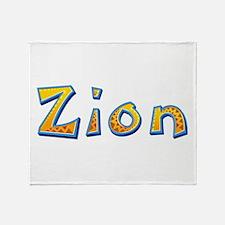 Zion Giraffe Throw Blanket