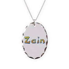 Zain Giraffe Oval Necklace