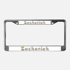 Zachariah Giraffe License Plate Frame