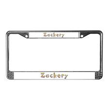 Zackery Giraffe License Plate Frame