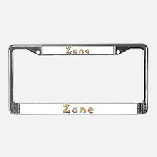 Zane Giraffe License Plate Frame