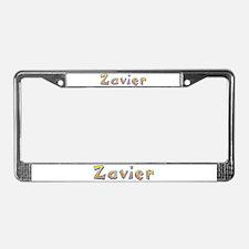 Zavier Giraffe License Plate Frame