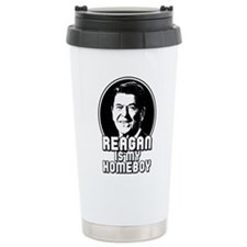 Cute Ronald reagan Thermos Mug