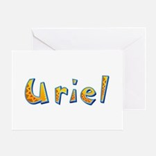Uriel Giraffe Greeting Card