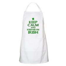Keep Calm Irish Apron