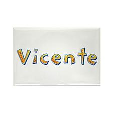 Vicente Giraffe Rectangle Magnet