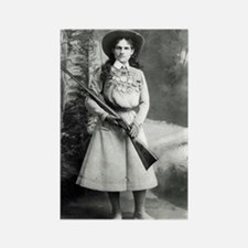 Vintage Photo of Annie Oakley Rectangle Magnet