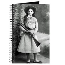 Vintage Photo of Annie Oakley Journal