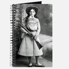 Vintage Photo of Annie Oakley Journal