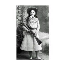 Vintage Photo of Annie Oakley Decal