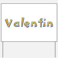 Valentin Giraffe Yard Sign