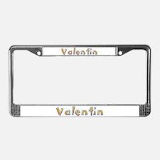 Valentin Giraffe License Plate Frame