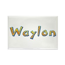 Waylon Giraffe Rectangle Magnet