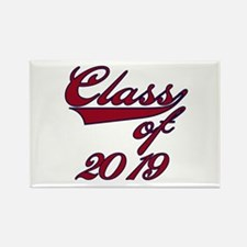 Red Class of 2016 Rectangle Magnet (10 pack)