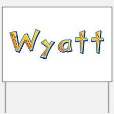 Wyatt Giraffe Yard Sign