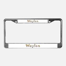 Waylon Giraffe License Plate Frame