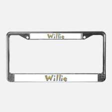Willie Giraffe License Plate Frame