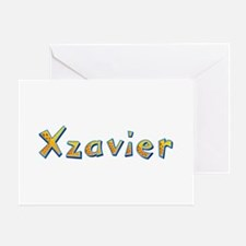 Xzavier Giraffe Greeting Card