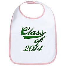 Green Class of 2014 Bib